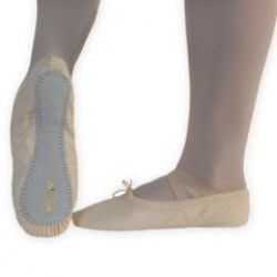 Exel Ballet schoen Canvas full sole